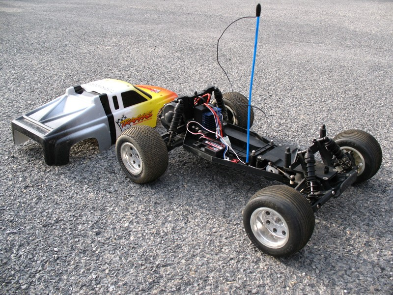 Traxxas Electric Rustler RC Car